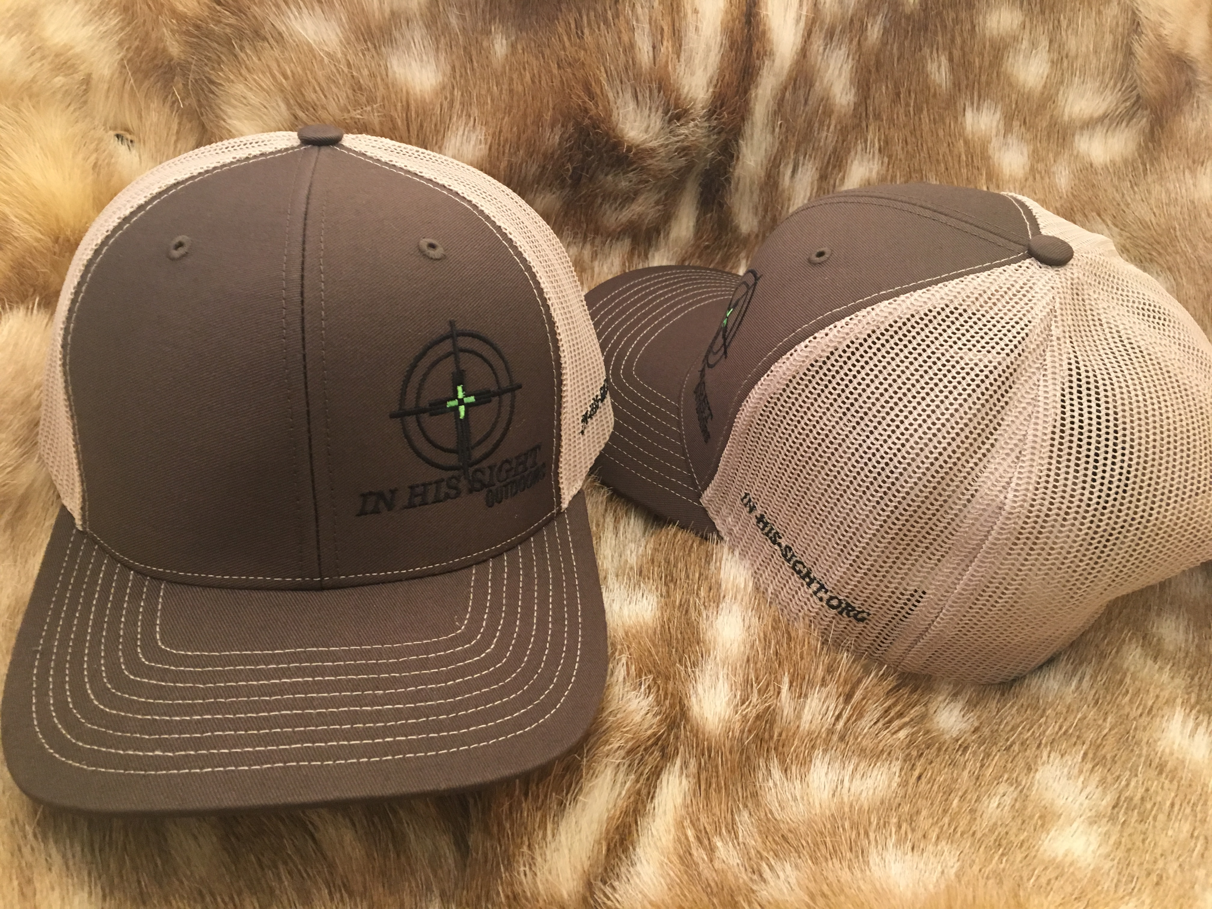 Brown / Tan Logo Cap