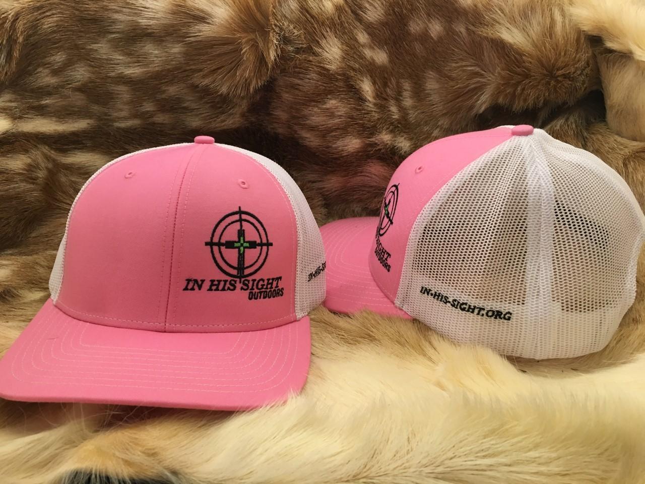 Pink/White Logo Cap